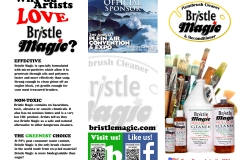 Bristle Magic Brochure Front