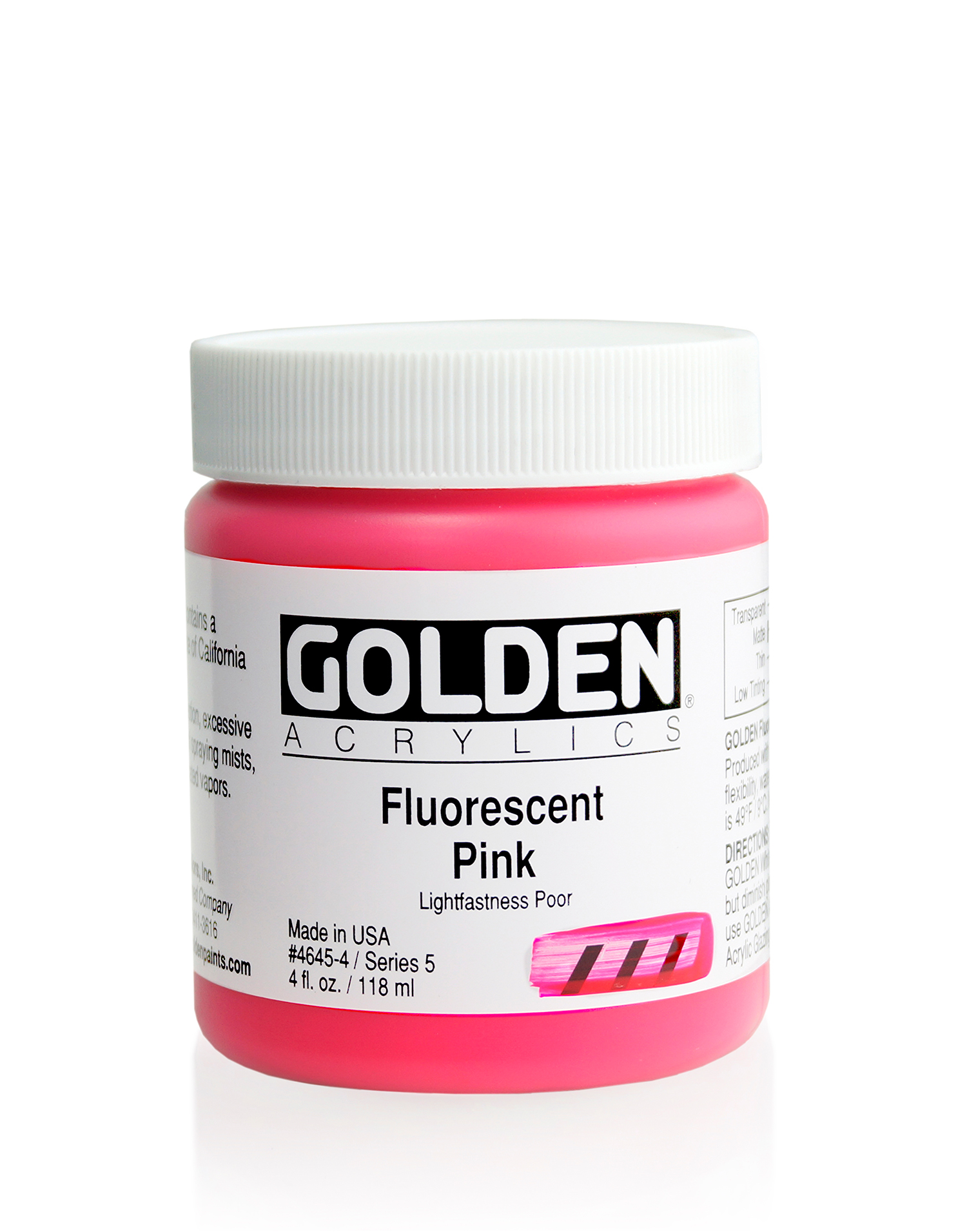119ml Fluorescent Pink