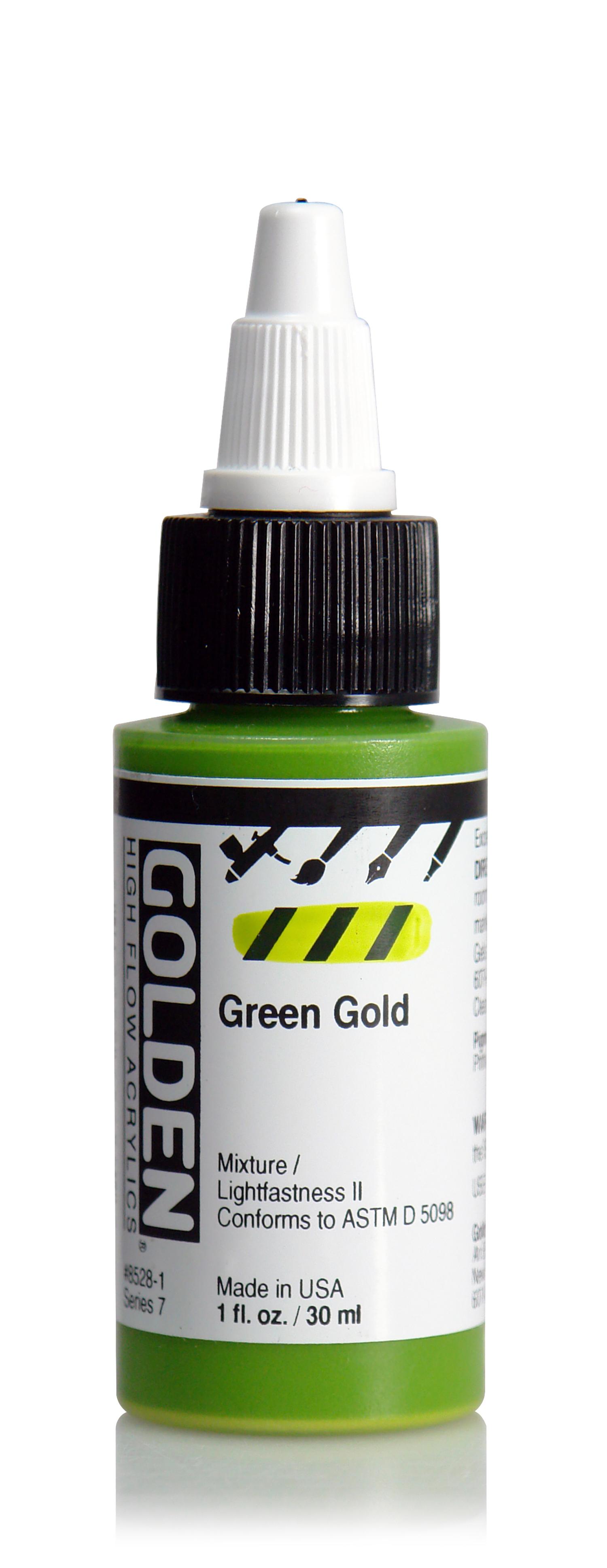 High Flow 30ml Green Gold