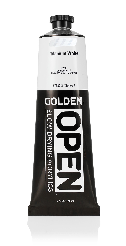 Open 150ml Titanium White