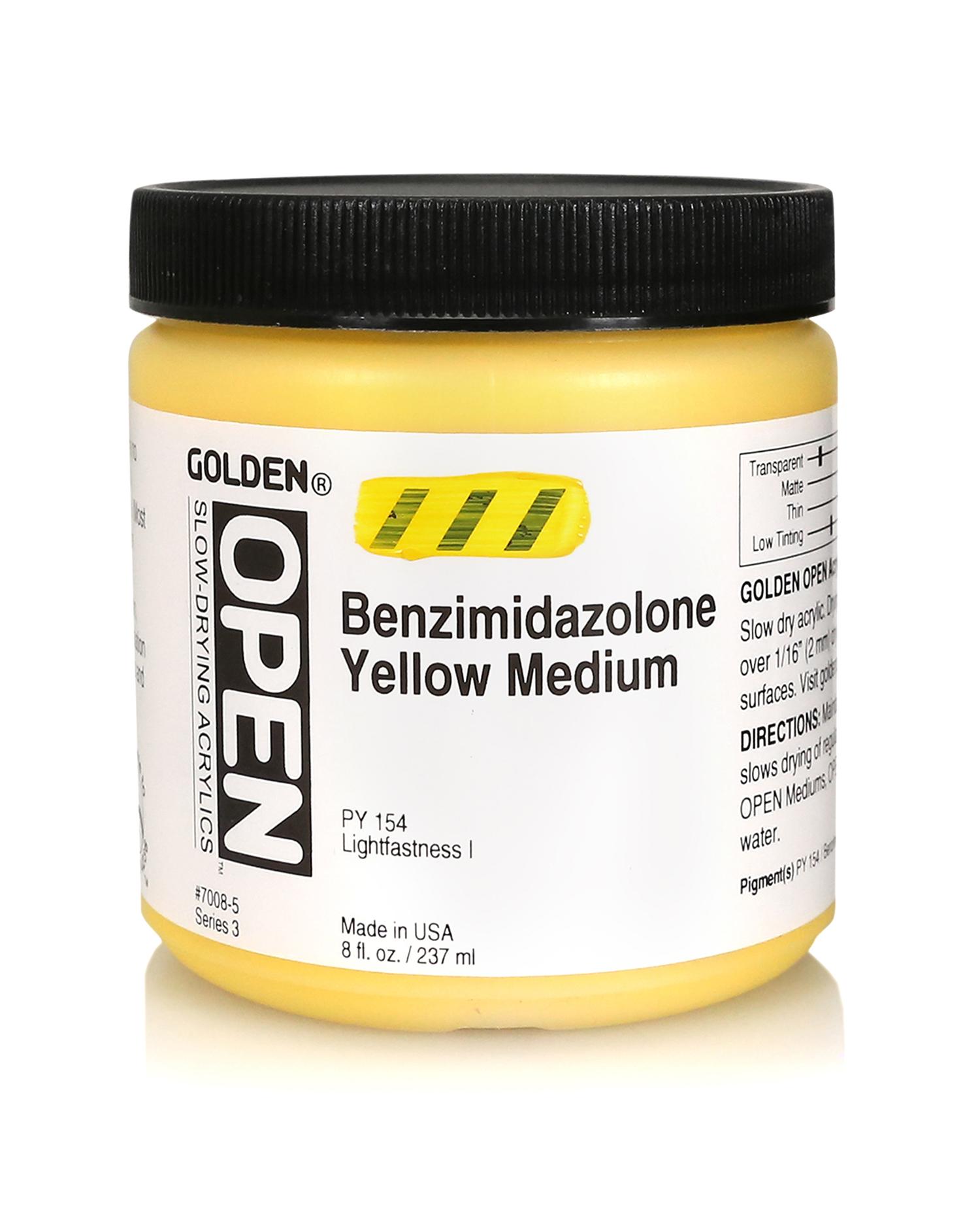 Open 236ml Benzimidazolone Yellow Medium