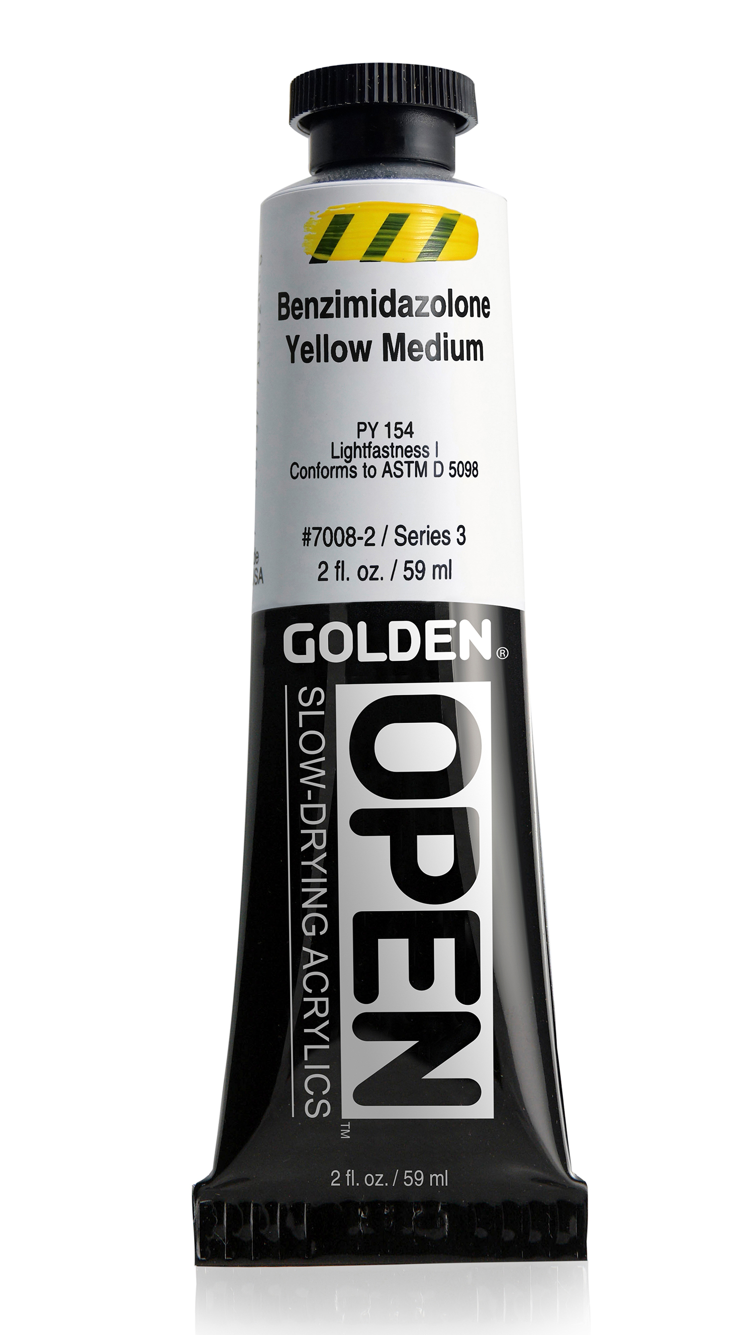 Open 60ml  Benzimidazolone Yellow Medium
