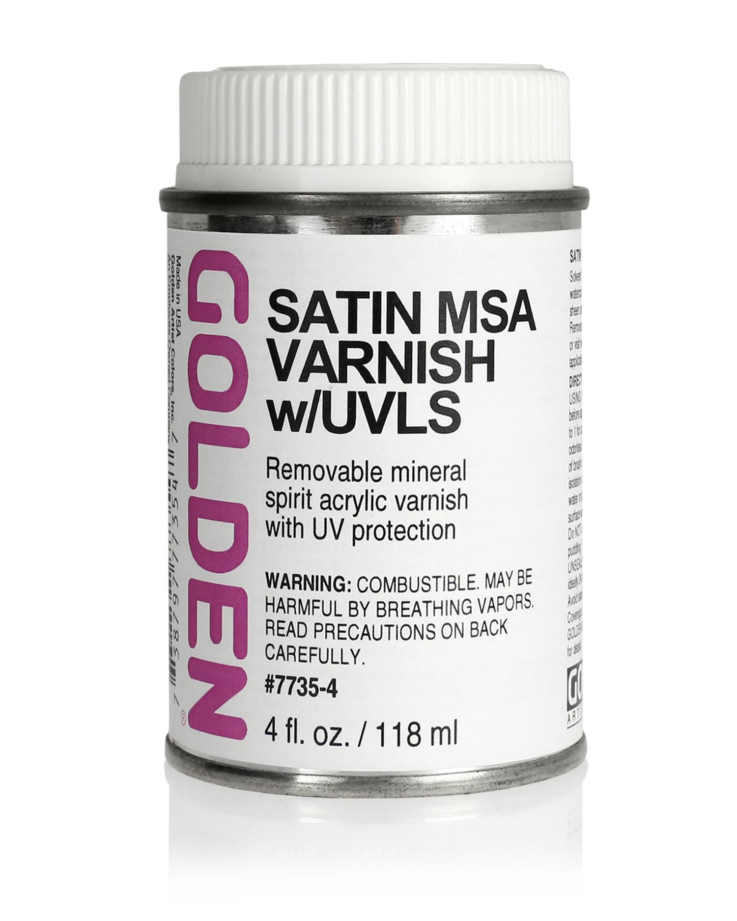 Varnish 119ml Satin MSA