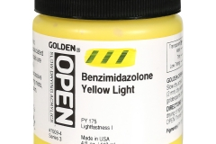 Open 119ml Benzimidazolone Yellow Light