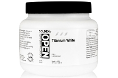 Open 946ml Titanium White