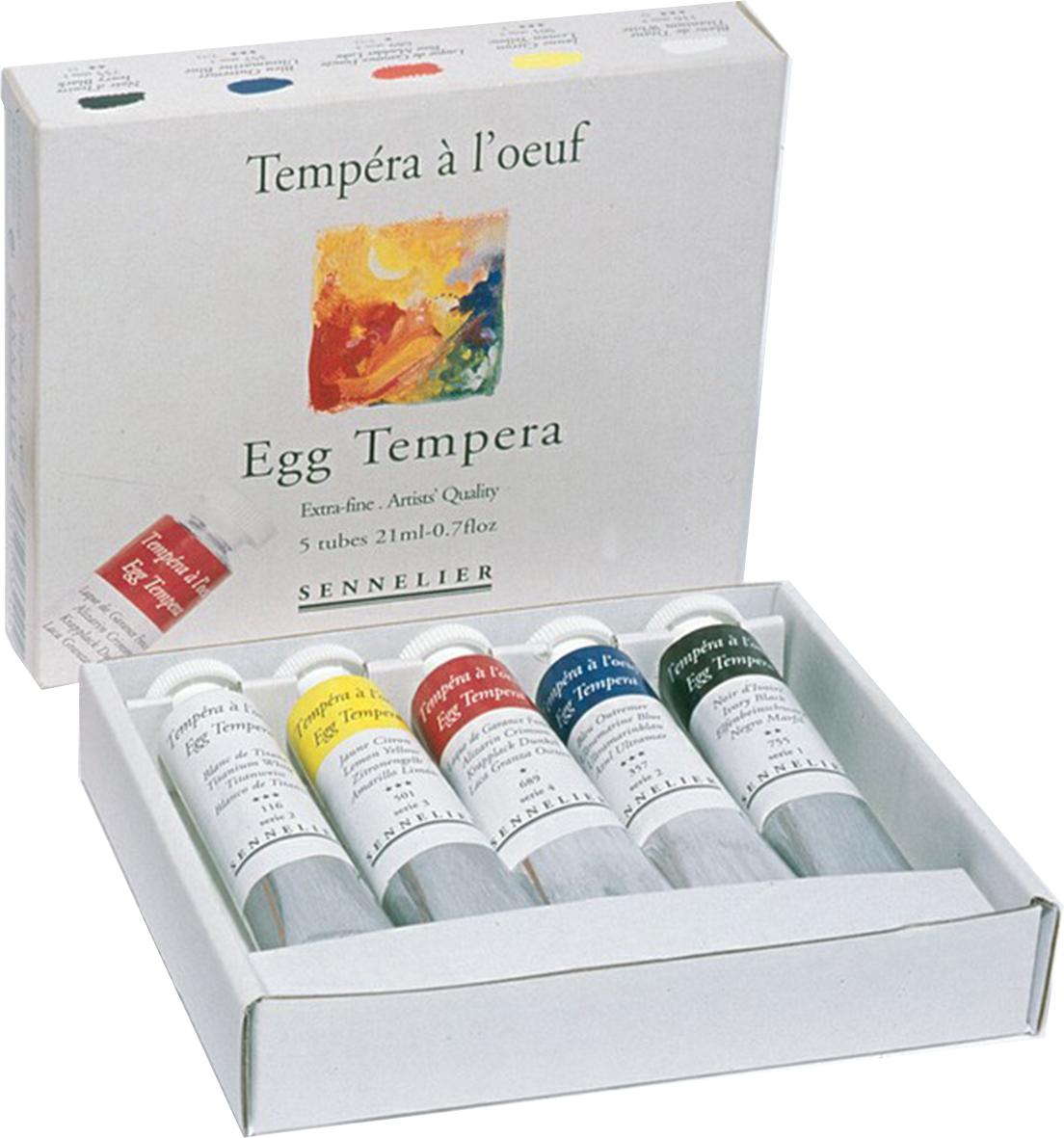 Egg Tempera Set 131025