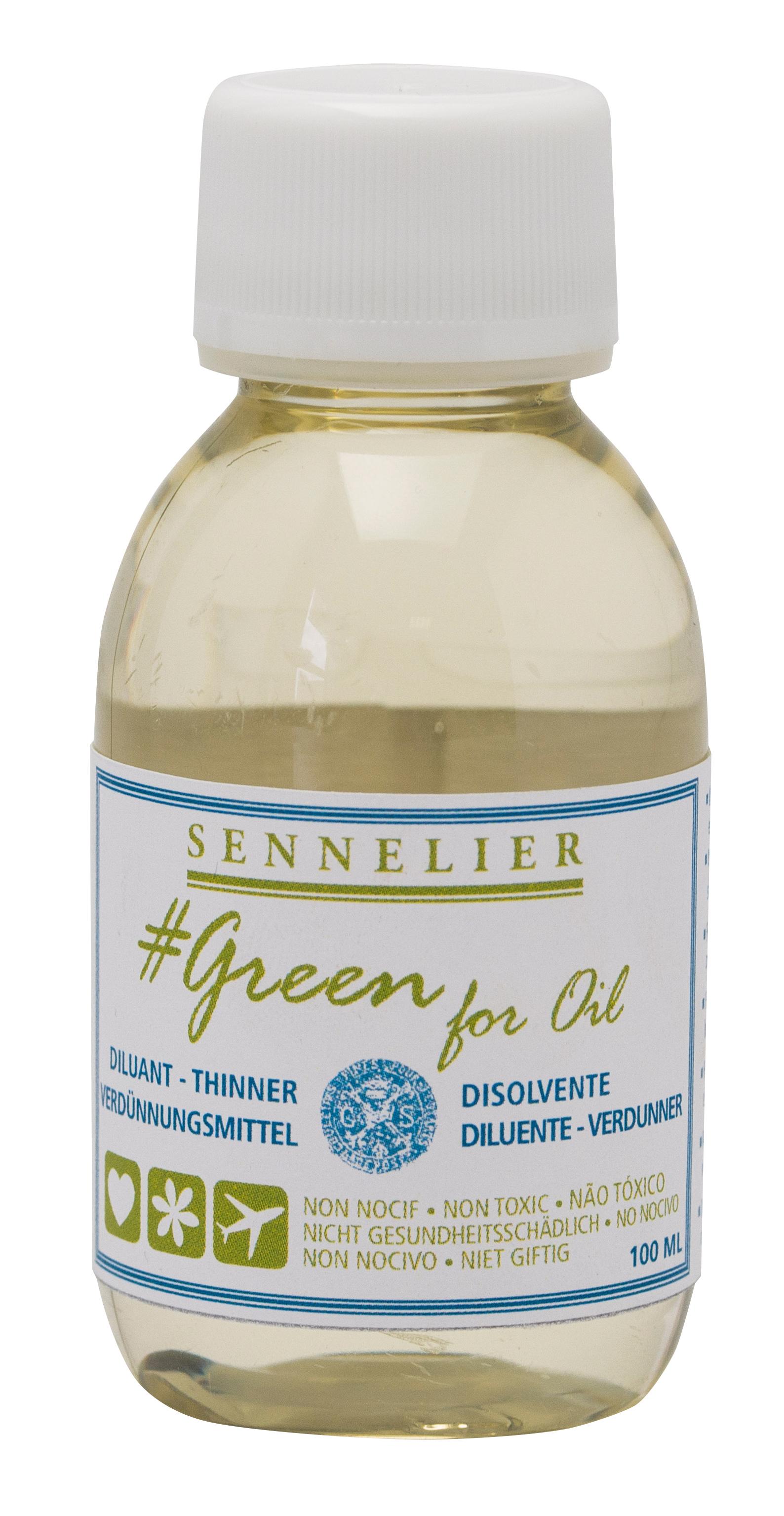 Green for oil Thinner