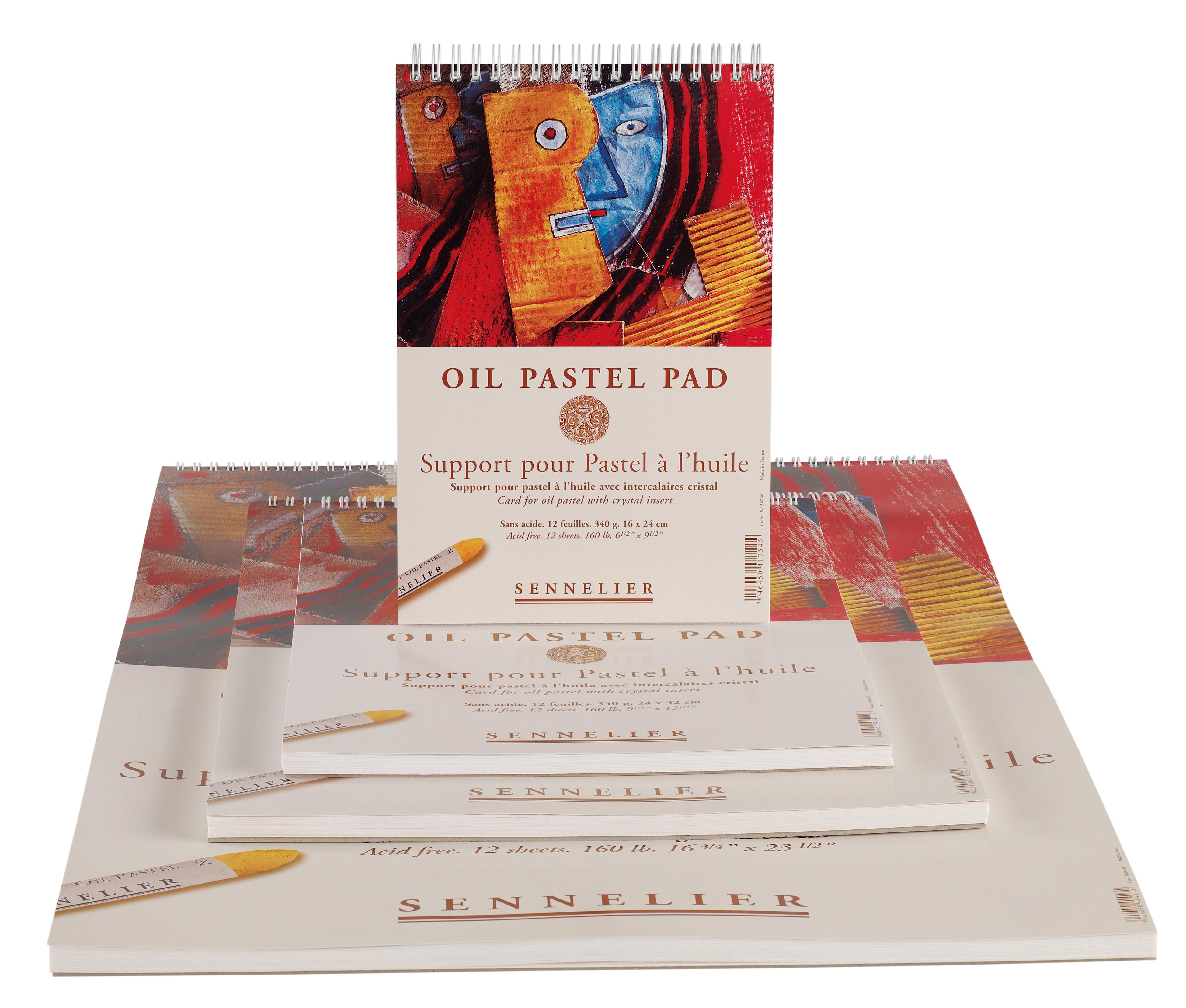 Oil Pastel Pads